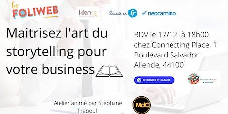 [Nantes] Maitrisez l'art du storytelling pour votre business billets