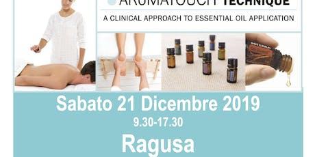 AROMATOUCH TECHNIQUE a  RAGUSA con Sabrina e Marco Petrollini-Blue Diamonds biglietti