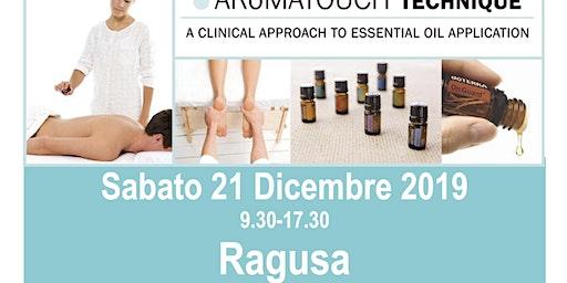 AROMATOUCH TECHNIQUE a  RAGUSA con Sabrina e Marco Petrollini-Blue Diamonds