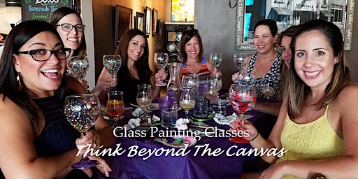 New Class! Join us for our Beer Glass Painting Party Workshop at Dog Days Brewing 1/14 @ 6pm