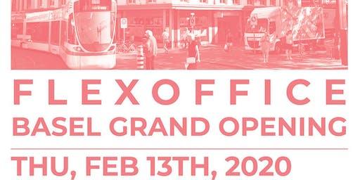 FlexOffice Basel Grand Opening