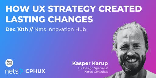 How UX Strategy created lasting changes
