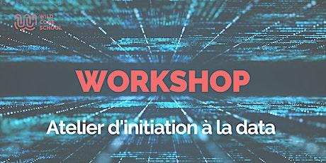 Workshop :  Atelier d'initiation à la Data - Wild Code School  Bruxelles tickets