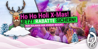 HOLI FESTIVAL OF COLOURS KÖLN 2020