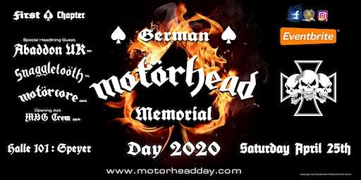 MOTÖRHEAD DAY 2020 - GERMAN MEMORIAL