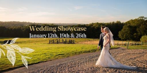 January Wedding Showcase - Sunday 12th, 19th & 26th