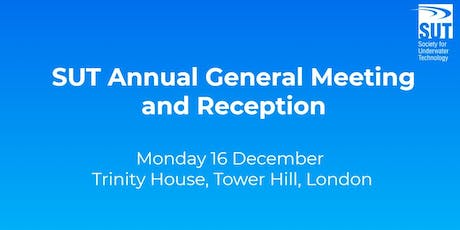 SUT Annual General Meeting and Reception tickets