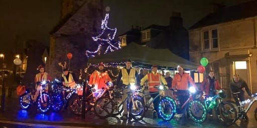 Merry and Bright Clackmannan Cycle Ride Thursday 19th December 6pm