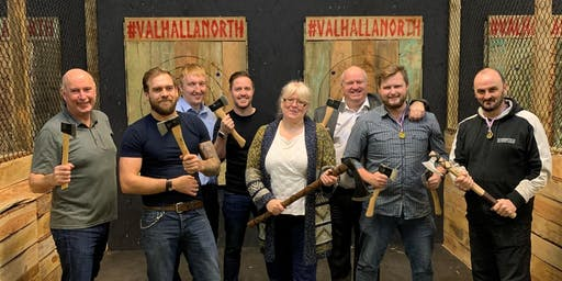 Something Different Networking - Valhalla Axe Throwing - £15