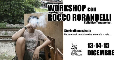 Workshop con Rocco Rorandelli