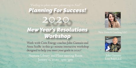 New Year's Resolutions Workshop tickets