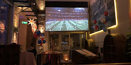 Super Bowl Viewing with the Hamburg Pioneers