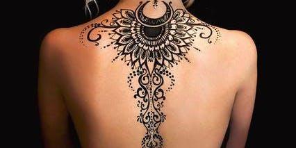 Henna Tattoo Worshop - Creating Temporary Tattos