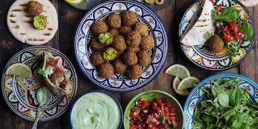 Cooking Workshop, Turkish Vegan & Vegetarian Mezzes