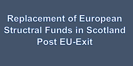 Replacement of European Structural Funds Glasgow Event tickets