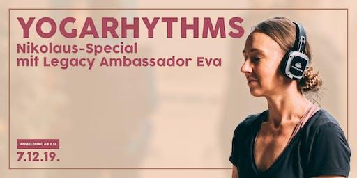 Nikolaus-Special - YOGARHYTHMS mit Legacy Ambassador Eva