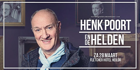 Henk Poort in Heiloo (Noord-Holland) 28-03-2020 tickets