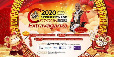 Mayor Kabir's 2020 Croydon Chinese New Year Charity Extravaganza tickets