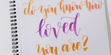 "Handlettering für Fortgeschrittene – Thema ""Love Letters"" 
