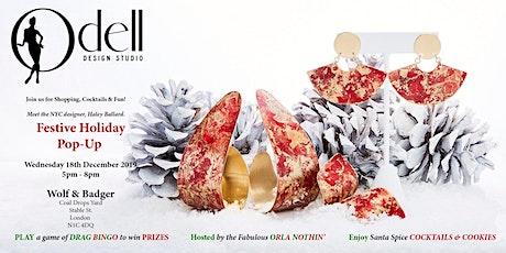Odell Design Studio Festive Holiday Pop Up tickets