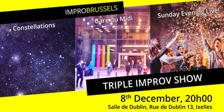 Triple Improv Show tickets