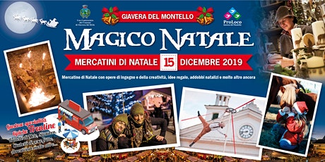 Magico Natale  - Mercatino di Natale biglietti