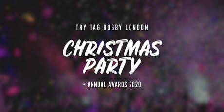 Try Tag Rugby Christmas Party 2020 tickets