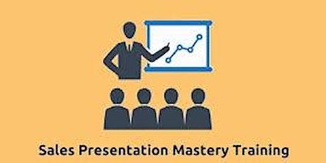 Sales Presentation Mastery 2 Days Training in Cambridge tickets