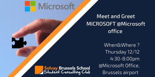 Meet and Greet MICROSOFT @Microsoft Office