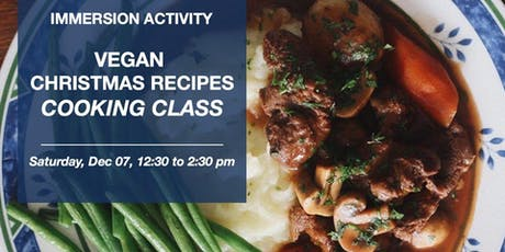 Vegan Christmas Recipes - Culinária em inglês ingressos