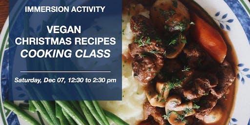 Vegan Christmas Recipes - Culinária em inglês