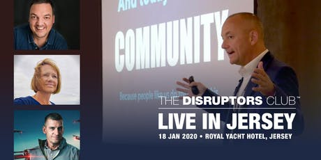 The Disruptors Club - LIVE in Jersey tickets