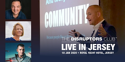 The Disruptors Club - LIVE in Jersey