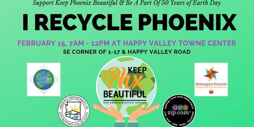 I Recycle Phoenix - Happy Valley Town Center