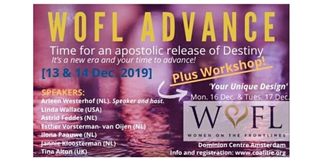 ADVANCE!  WOFL Conference  AND / OR Going Deeper  Workshop December 2019 tickets