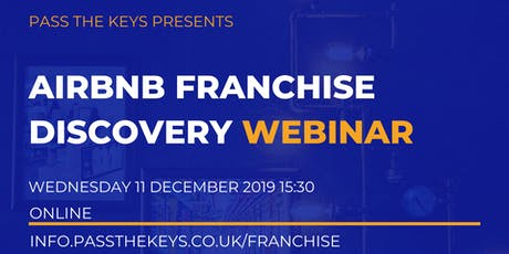 Airbnb Franchise Discovery Webinar tickets