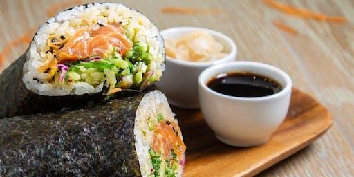Sushi Burrito Meet Up at Enso (Dubai)