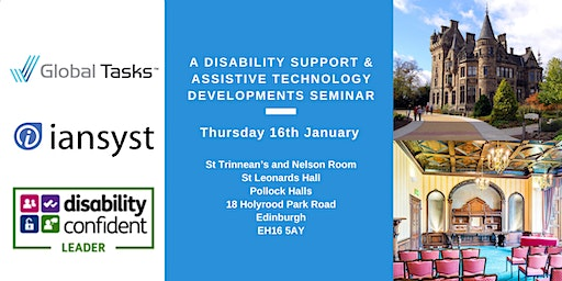 A Disability Support & Assistive Technology Developments Seminar by Iansyst
