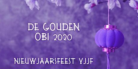 Gouden Obi 2020 Nieuwjaarsreceptie VJJF tickets