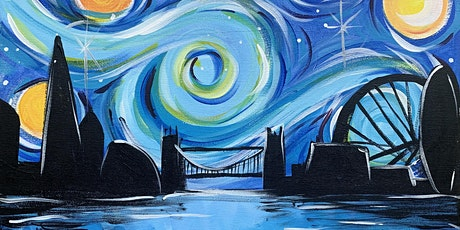 Paintvine - Paint and Wine - Starry Night over London, The Canonbury tickets