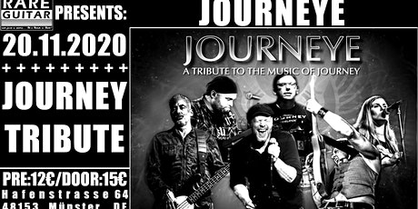 Journeye – Journey-Tribute Tickets