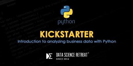 Python Kickstarter tickets