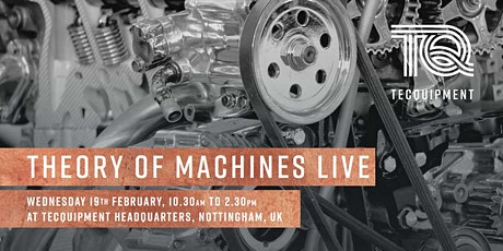 Theory of Machines Live tickets
