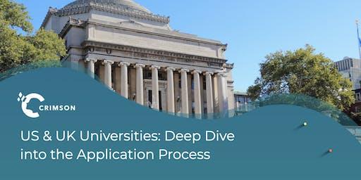 US & UK Universities: Deep Dive into the Application Process - Frankfurt