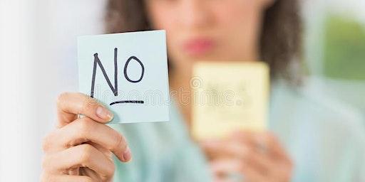 Saying No to volunteers - workshop