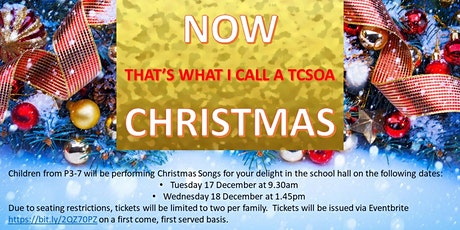 Now That's What I Call A TCSoA Christmas! tickets