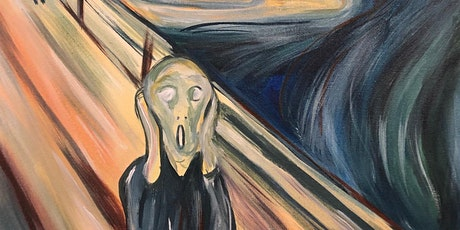 Paintvine - Paint & Wine - The Scream | The Canonbury Tavern tickets