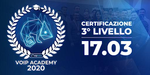 Corso di Certificazione Terzo Livello VoipVoice Firenze