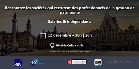 Carrières du Patrimoine - Lille by L'AGEFI billets