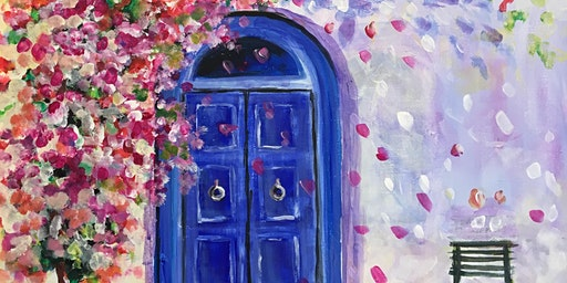 Paint Party Event 'Blue Door' at Greystones, SAWTRY, Cambs